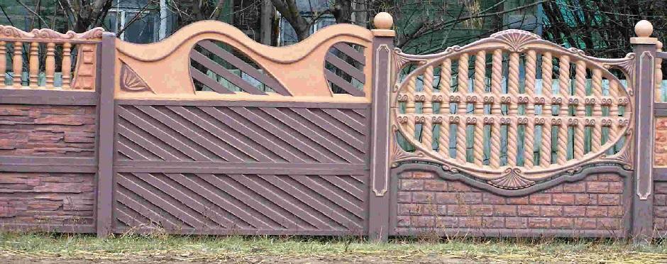 забор из бетона декоративные панели цена в москве